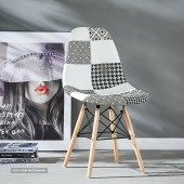 Moda Patchwork Eiffel Chair