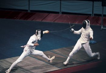 James Honeybone and Sophie Williams win British fencing titles